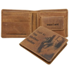 Mustard John McLane Yippi Ki Yay Die Hard Leather Wallet
