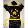 Rocky Balboa Black and Gold Boxing Robe One