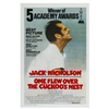 One Flew Over The Cuckoo's Nest Movie Poster (12 x 18