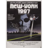 Escape From New York Movie Poster French (A3)