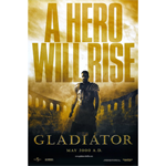 Gladiator Movie Poster (12 x 8