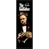 Godfather Movie (Brando with Cat, Door) Poster Print - 53x157 cm