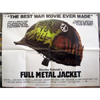 Full Metal Jacket Original British Quad Movie Poster
