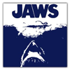 Jaws Poster Iconic Large Canvas Art Print (15x15