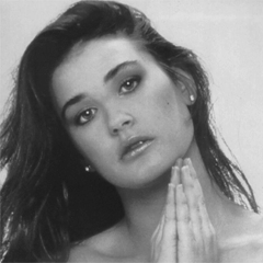 Demi Moore early picture