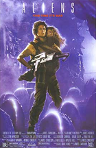 Aliens - Theatrical release poster