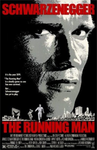 The Running Man - Theatrical release poster
