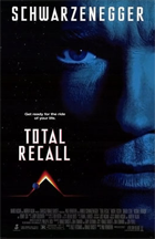 Total Recall - Theatrical release poster