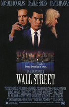 Wall Street - Theatrical release poster