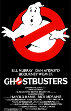 Ghostbusters - Theatrical release poster