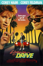 License to Drive - Theatrical release poster