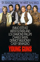 Young Guns - Theatrical release poster