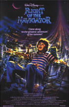 Flight of the Navigator - Theatrical release poster