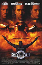 Con Air - Theatrical release poster