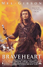 Braveheart - Theatrical release poster